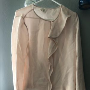 Kate spade blouse with ruffles